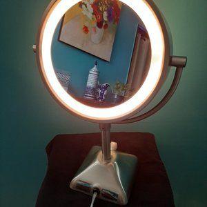 Conair® Variable Lighted 1X/10X Mirror